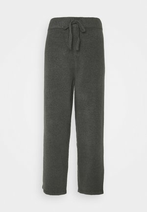 MAJA TROUSERS - Joggebukse - grey dark