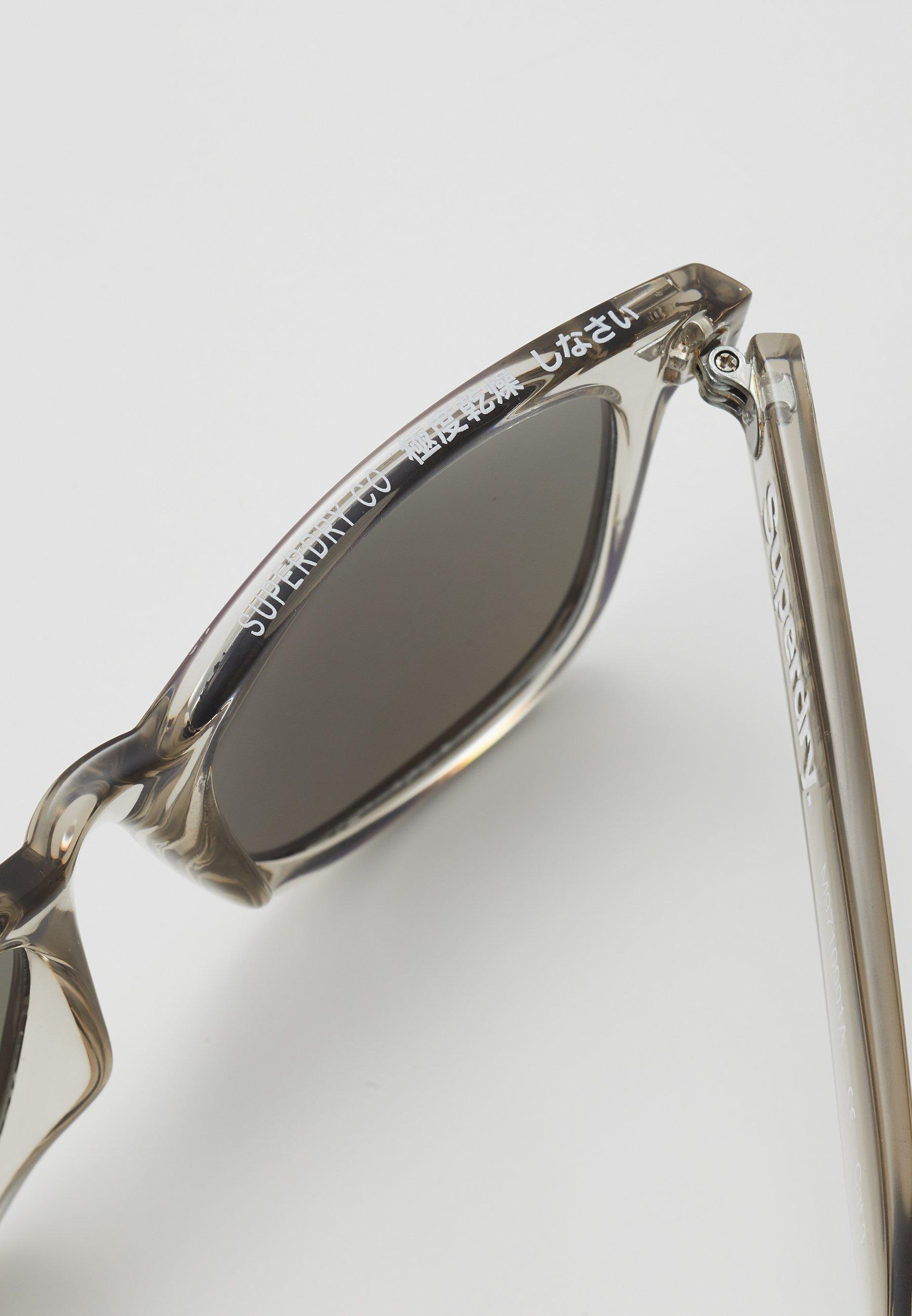 Superdry SUPERFARER - Sonnenbrille - gloss crystal grey/grau - Herrenaccessoires CdnIY