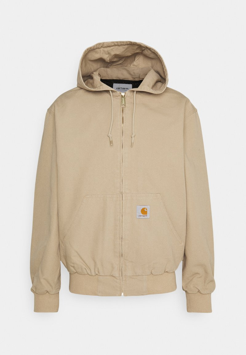 Carhartt WIP - ACTIVE JACKET DEARBORN - Summer jacket - dusty brown rinsed