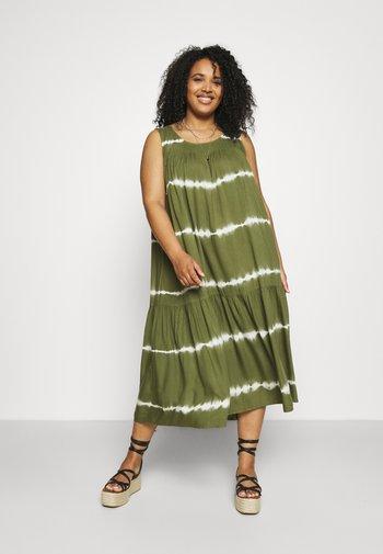 MLIBA MIDI DRESS - Day dress - ivy green