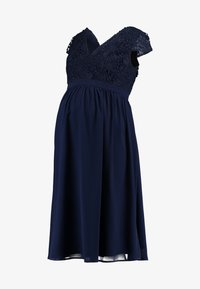 Chi Chi London Maternity - GLYNNIS DRESS - Vestito elegante - navy - 6