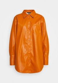 Who What Wear - OVERSIZE  - Blouse - cognac orange - 5