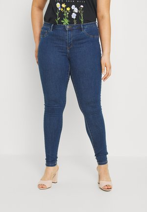 CARFLORIA  - Jeans Skinny Fit - medium blue denim