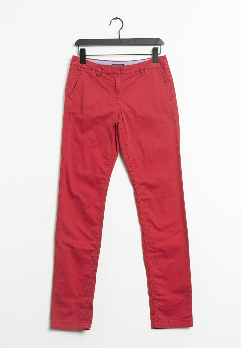 Tommy Hilfiger - Trousers - red