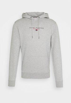 ESSENTIAL HOODY - Felpa con cappuccio - medium grey heather