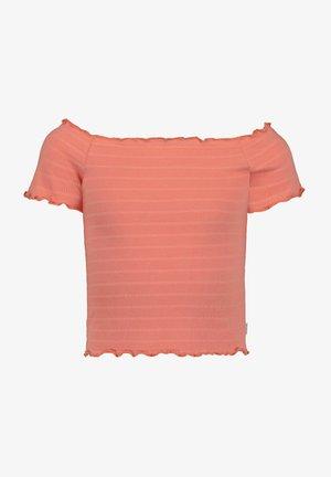 Blouse - wash orange