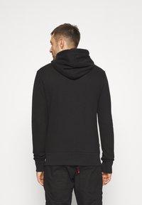 Superdry - CLASSIC ZIPHOOD - Sweater met rits - black - 2