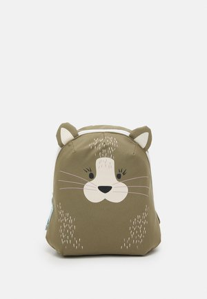 TINY BACKPACK ABOUT FRIENDS CAT UNISEX - Batoh - brown