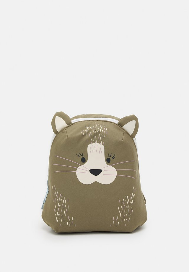 TINY BACKPACK ABOUT FRIENDS CAT UNISEX - Reppu - brown