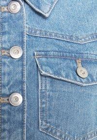 Pieces Petite - PCGREYSON  - Denim jacket - light blue denim - 2
