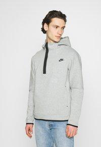 Nike Sportswear - Hoodie -  grey heather/black - 0