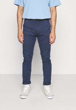 PANTS - Chinos - dress blues