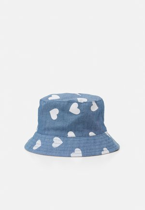 Hat - blue/light pink