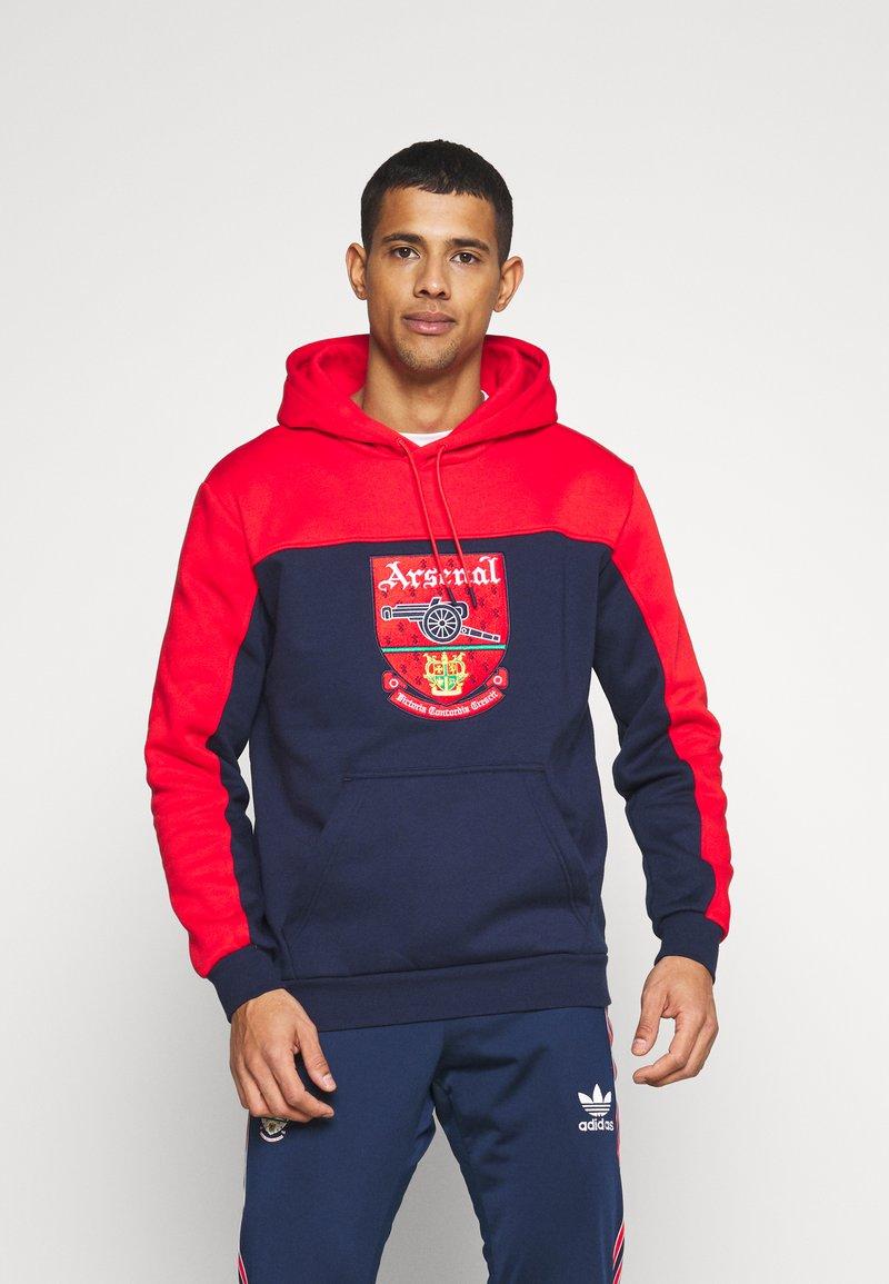 adidas Originals - Sweatshirt - red/collegiate navy