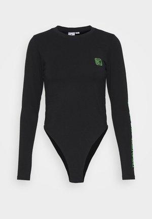 RETRO BODY - Long sleeved top - black