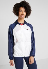 Tommy Hilfiger - BLOCKED WITH LOGO - Vindjacka - white - 0