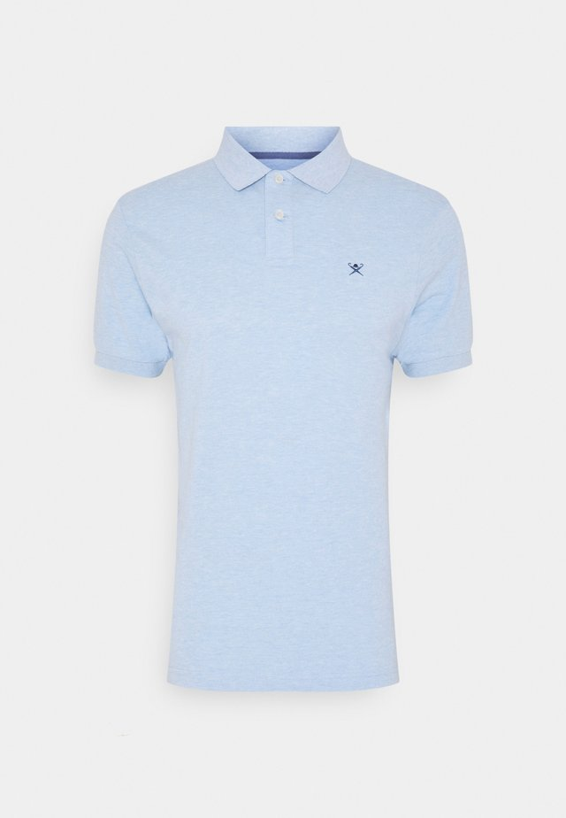 SLIM FIT LOGO - Polo - blue