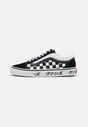 OLD SKOOL UNISEX - Sneakers laag - black/true white