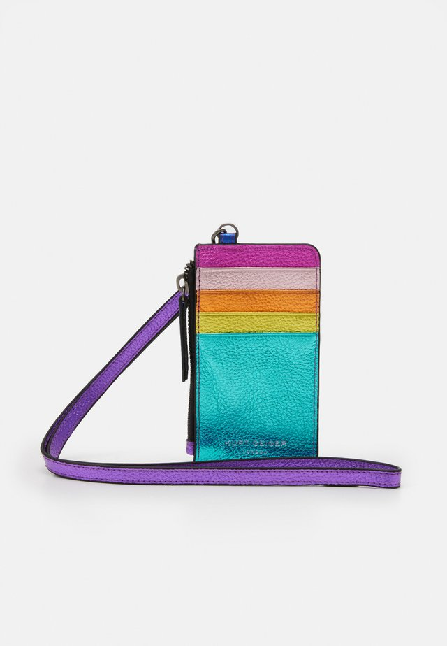CARD HOLDER STRAP - Plånbok - multi-coloured