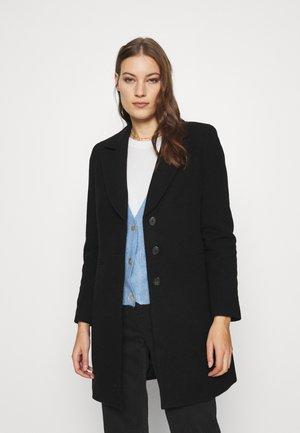 MELTON - Classic coat - black