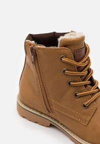 TOM TAILOR - Lace-up ankle boots - camel - 5