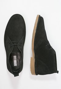 Pier One - Casual lace-ups - black/honey - 1