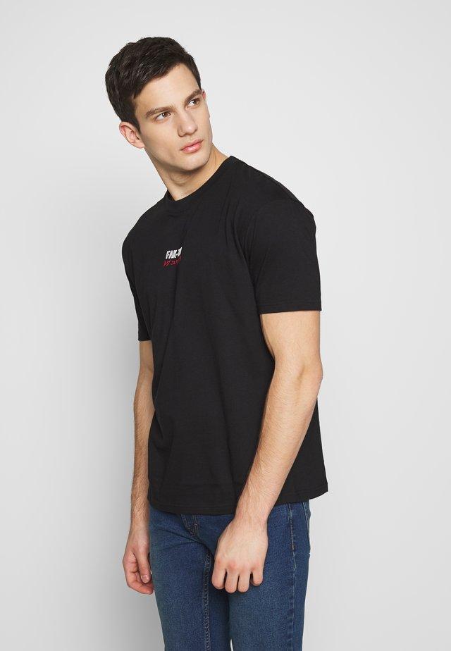 PEAK TEE - T-shirt print - black