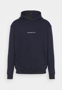 Mennace - ESSENTIAL HOODIE UNISEX - Sweatshirt - navy - 0