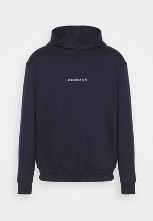ESSENTIAL HOODIE UNISEX - Sweater - navy