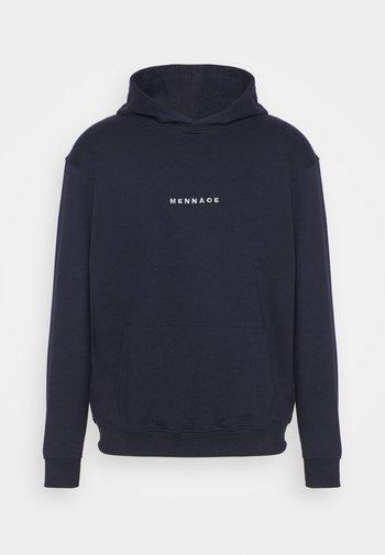 ESSENTIAL HOODIE UNISEX - Sweatshirt - navy
