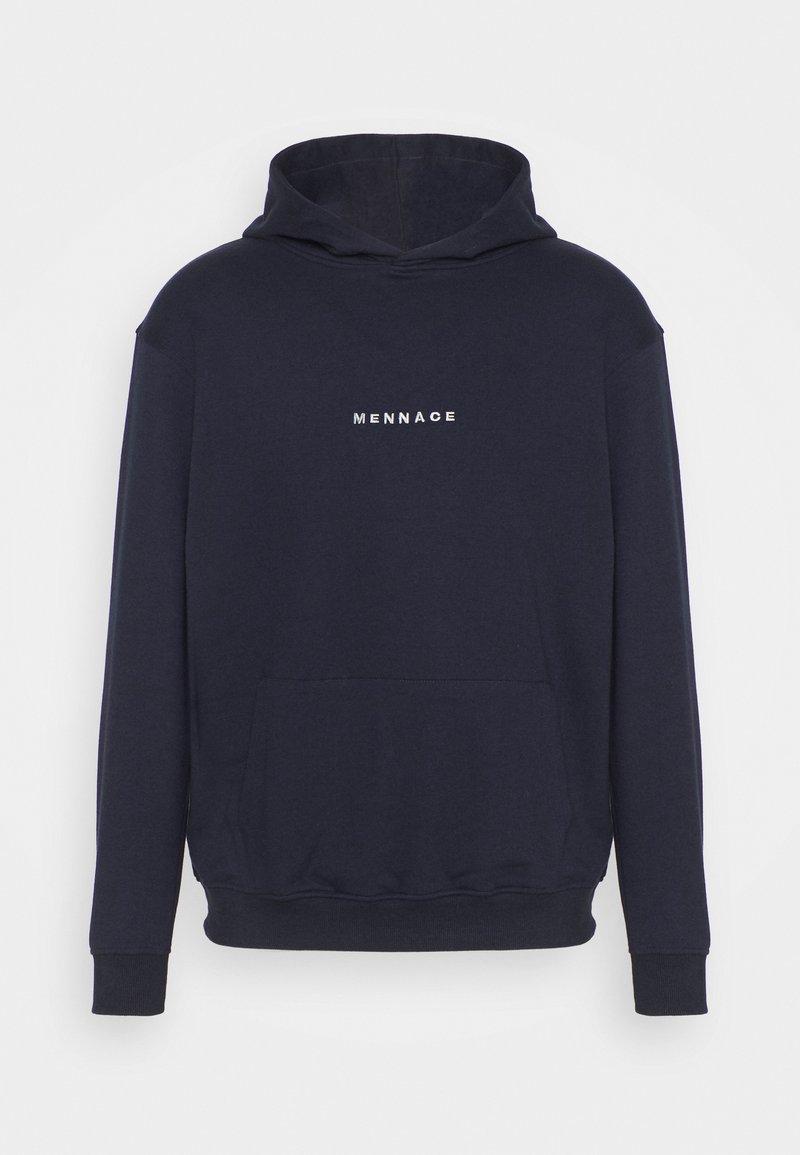 Mennace - ESSENTIAL HOODIE UNISEX - Sweatshirt - navy