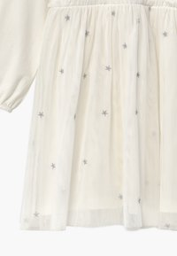 Benetton - Jersey dress - white - 3
