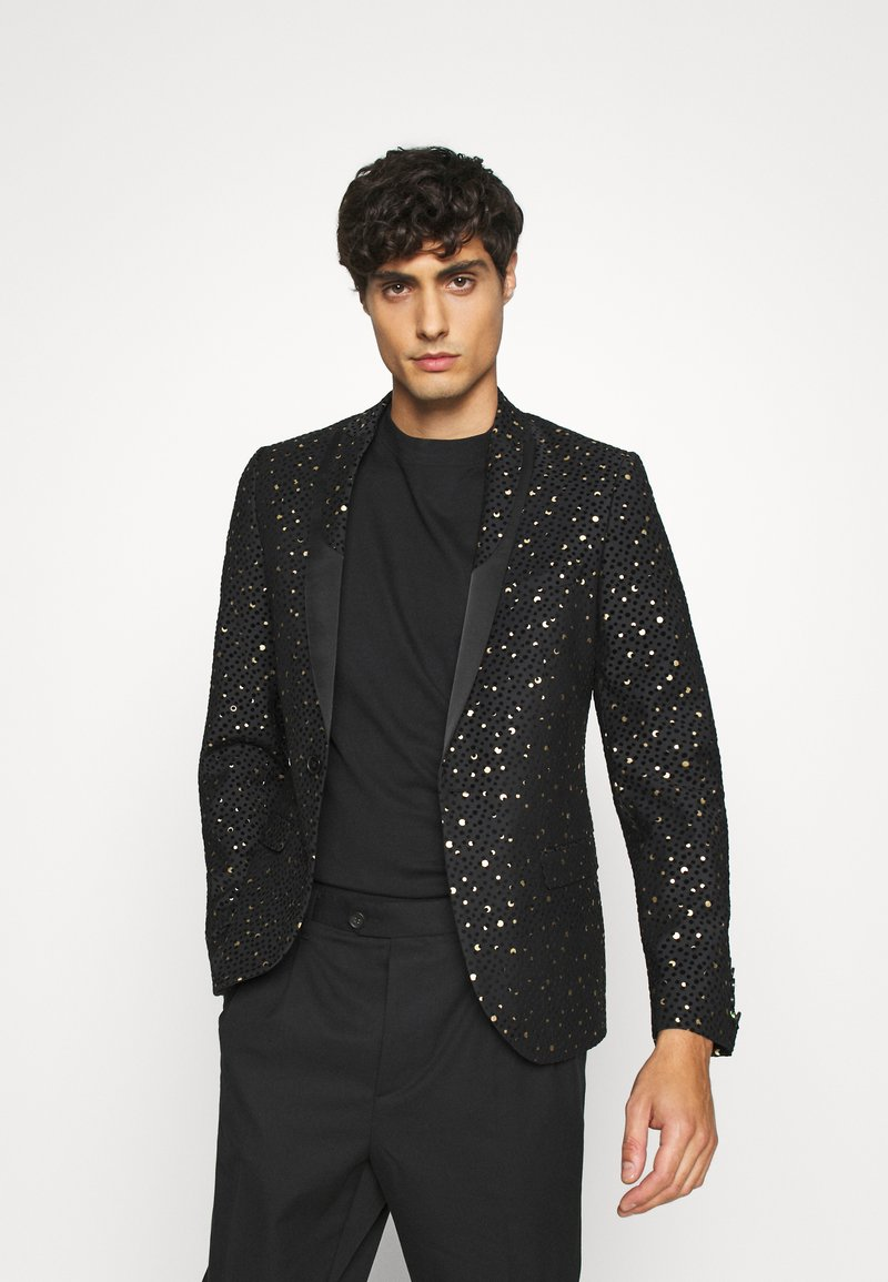 Twisted Tailor - FARROW JACKET - Suit jacket - black