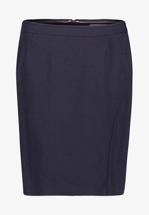 Blyantnederdel / pencil skirts - dark blue