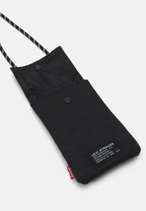 LANYARD BAG UNISEX - Axelremsväska - regular black
