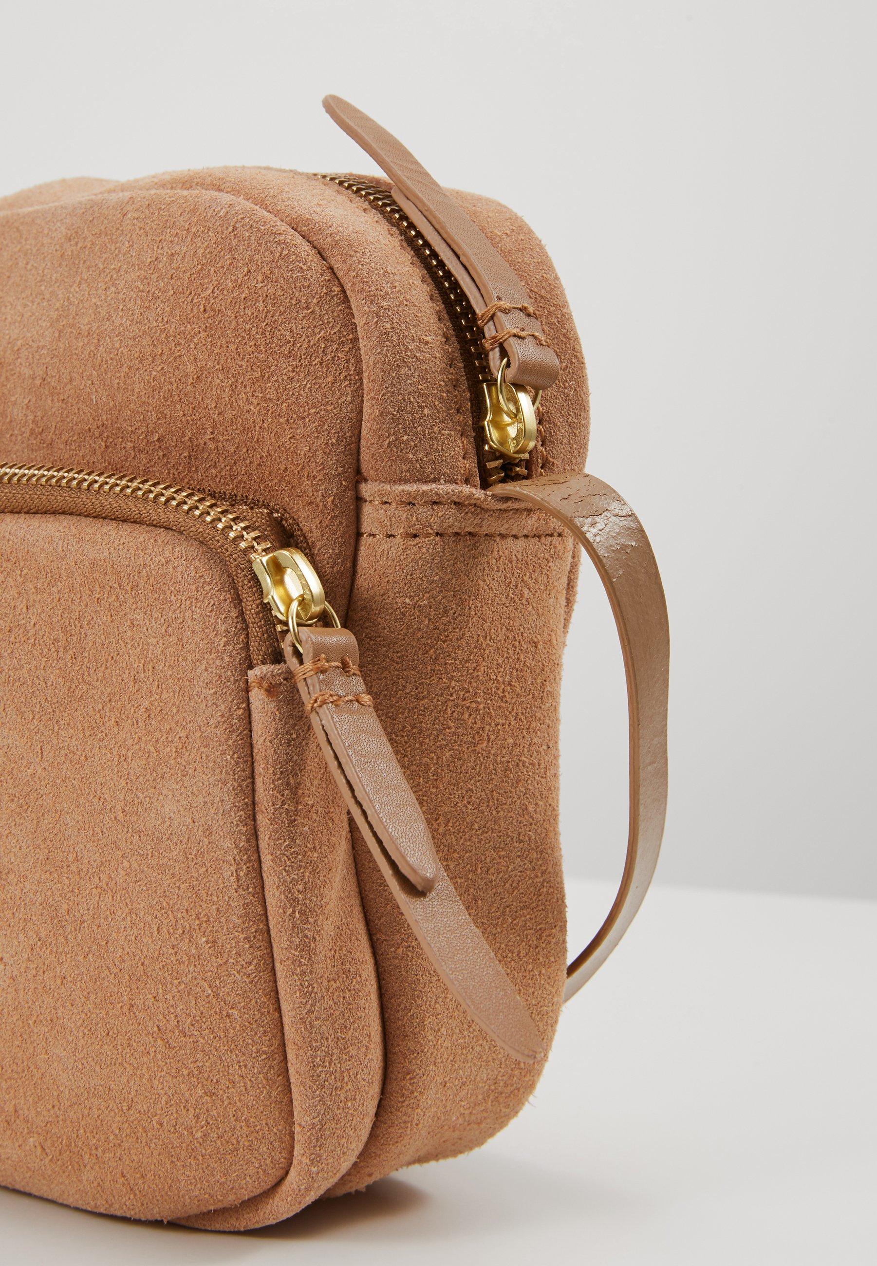 Zign Leather - Umhängetasche Tan
