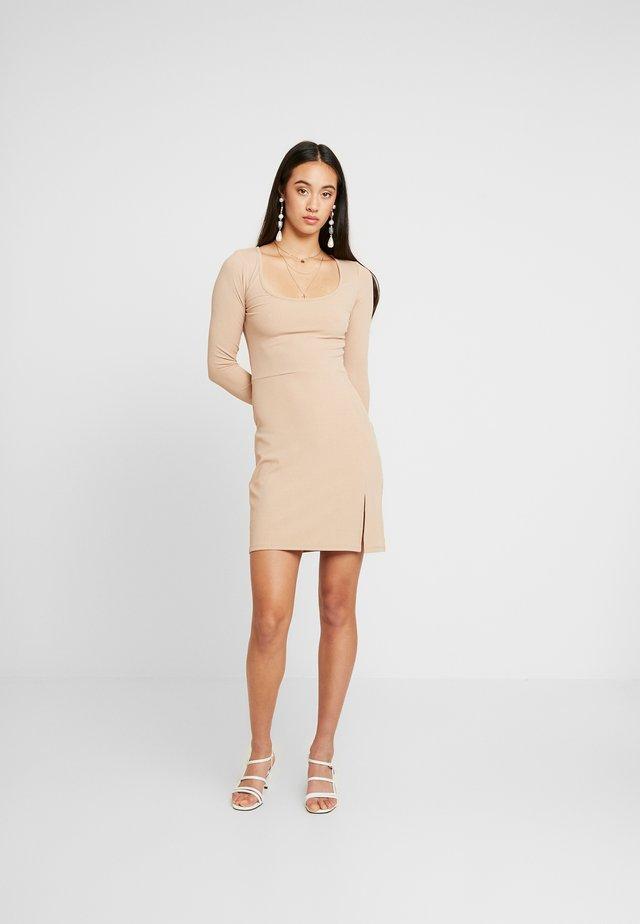 COCOA - Shift dress - beige