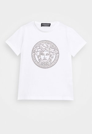 SHORT SLEEVES UNITED MEDUSA UNISEX - Triko s potiskem - white/gun metal