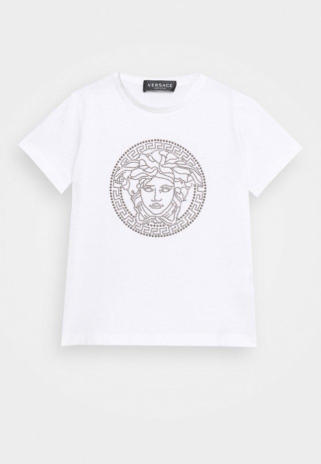 SHORT SLEEVES UNITED MEDUSA UNISEX - Print T-shirt - white/gun metal