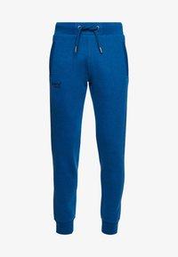 Superdry - ORANGE LABEL CLASSIC  - Tracksuit bottoms - blue - 3