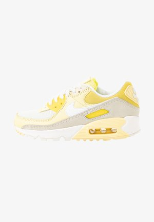 AIR MAX 90 - Sneakers - optic yellow/white/fossil/bicycle yellow/sail
