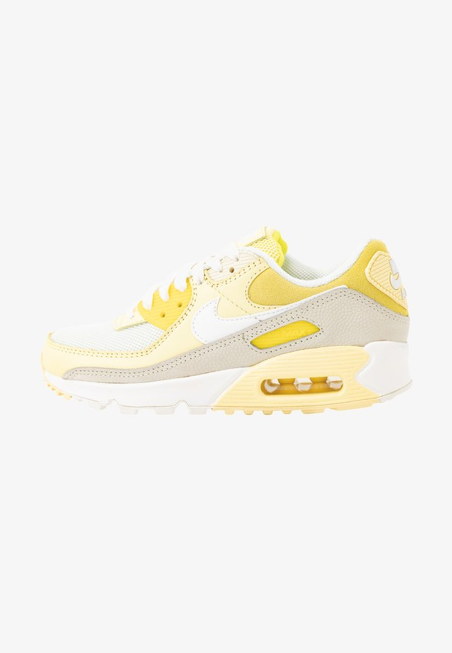 AIR MAX 90 - Zapatillas - optic yellow/white/fossil/bicycle yellow/sail
