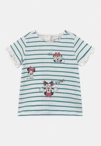 OVS - MINNIE - Print T-shirt - snow white - 0