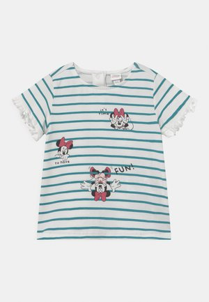 MINNIE - Print T-shirt - snow white