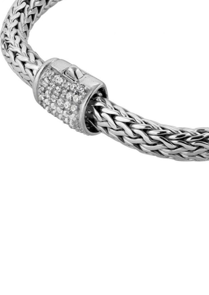 Homme Bracelet - silver-coloured