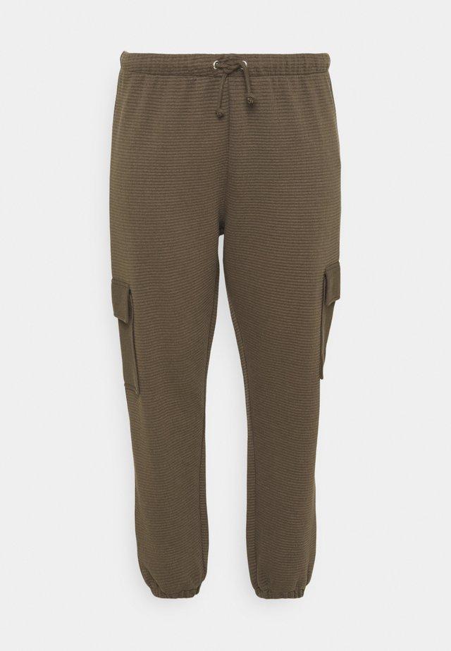 JOGGER - Pantalon cargo - khaki
