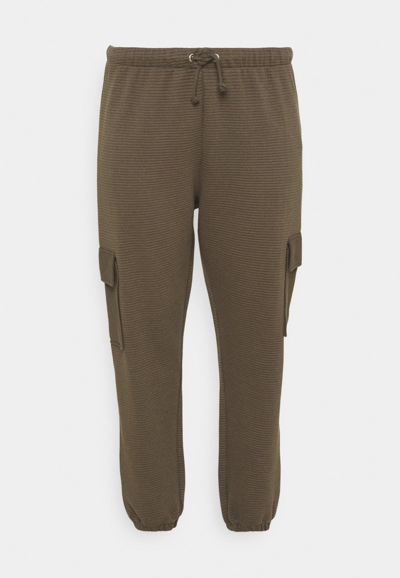 Missguided Plus - JOGGER - Cargo trousers - khaki