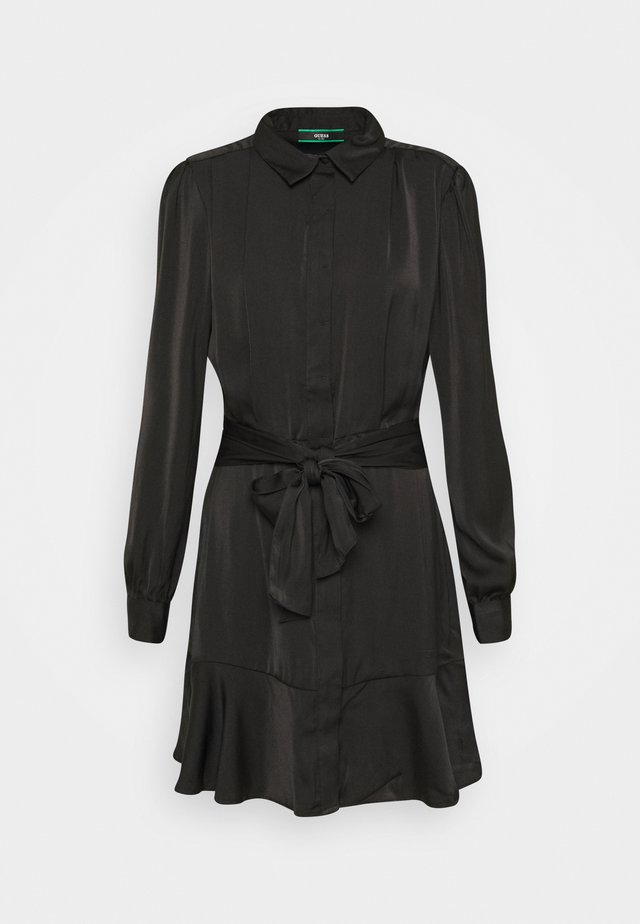 Vestido camisero - jet black