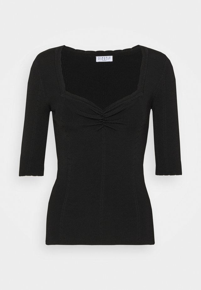 MINILI - T-shirt basic - noir