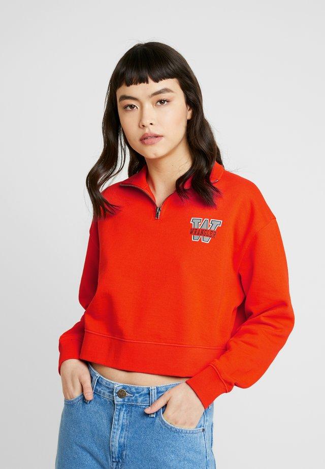 Sweatshirt - tango orange